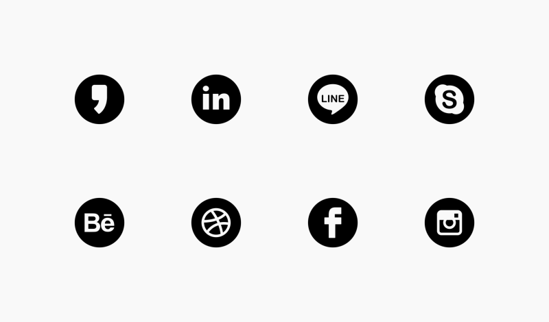 Social Media Rounded Solid