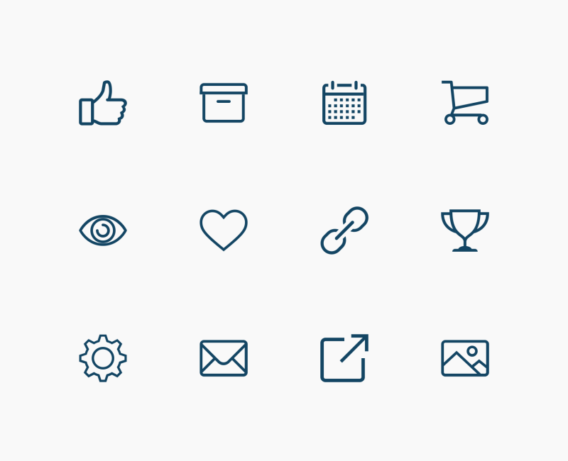 Thin Line User Interface icons by Evil Icons