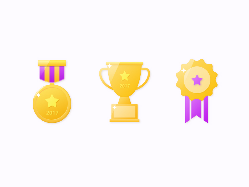 Trophy and Badge icons by JasonGYF