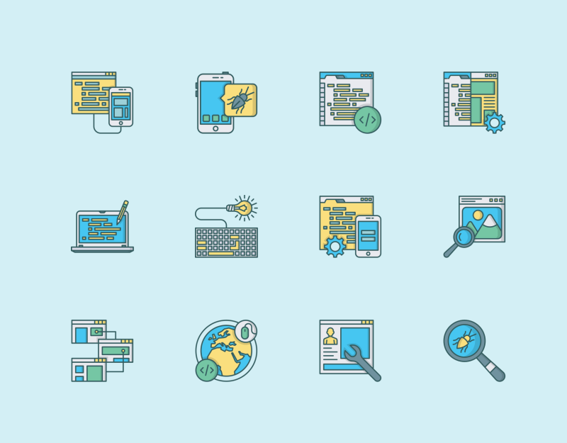 Web,Design And Development icon pack by Danil Polshin