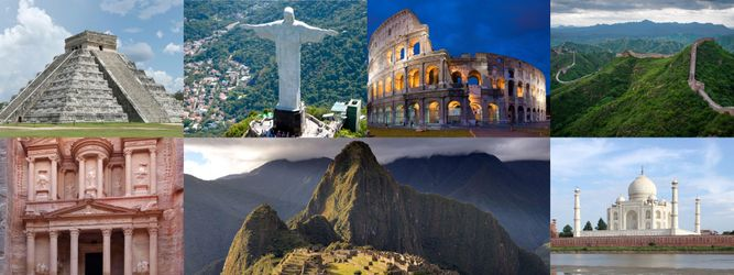 World Heritage Day — 7 Wonders of the World