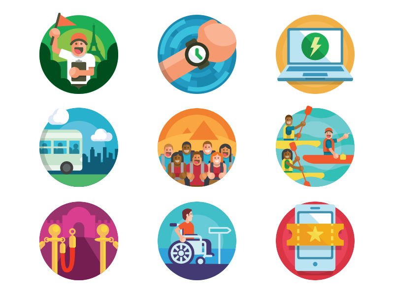 Activity icons by Michael Weinstein for thoughtbot