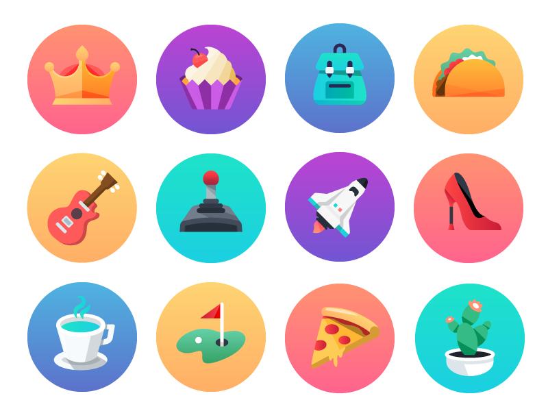 Comcast Digital Home User Icons by Zach Roszczewski