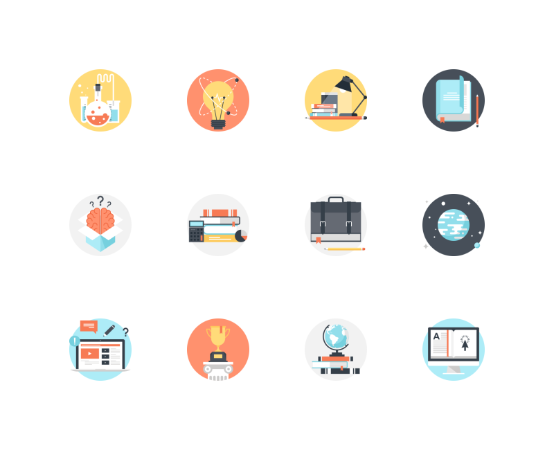 Education And Knowledge icons by Maxim Basinski