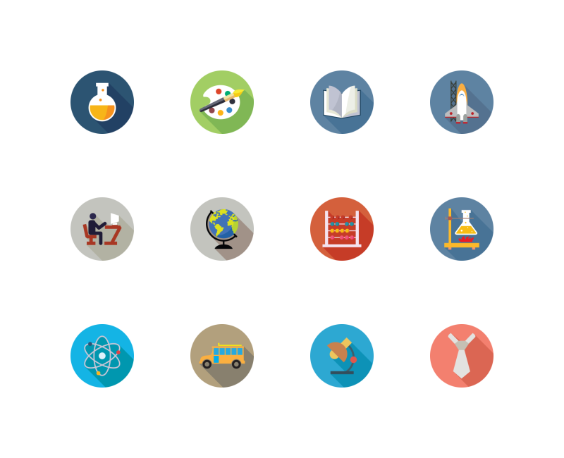 Education Vol 1 icons by Creative Stall