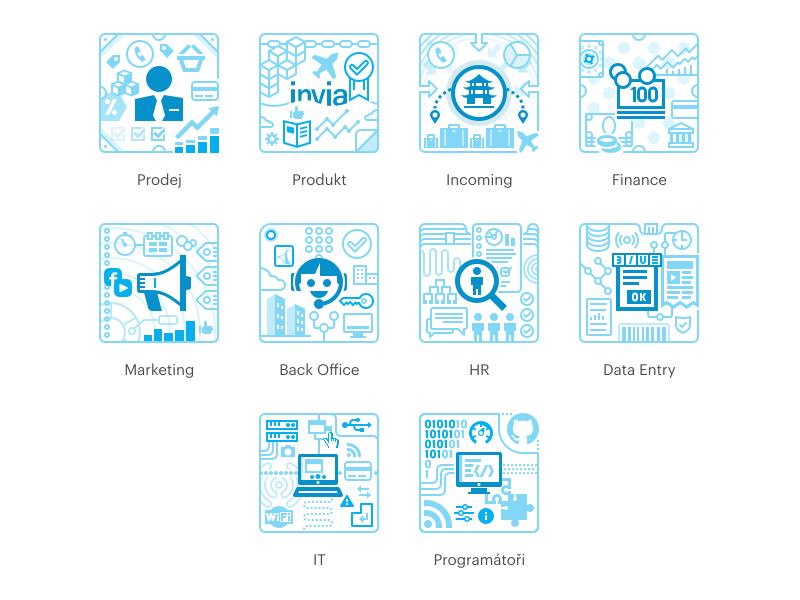 Invia HR Icons by Vita Valka