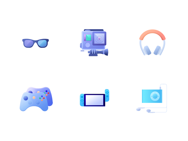 Multimedia and Device icons by Tere