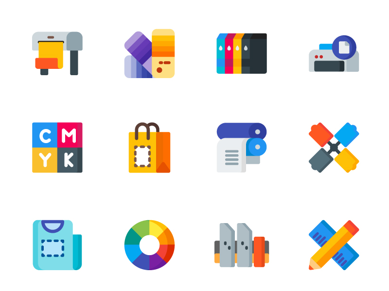 Print Icons by Sooodesign