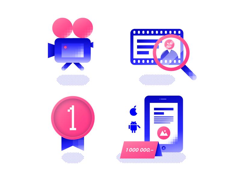 Website illustration by Dolynda for Ackee