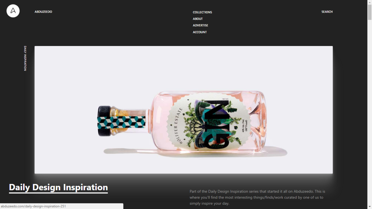 Abduzeedo Design Blog