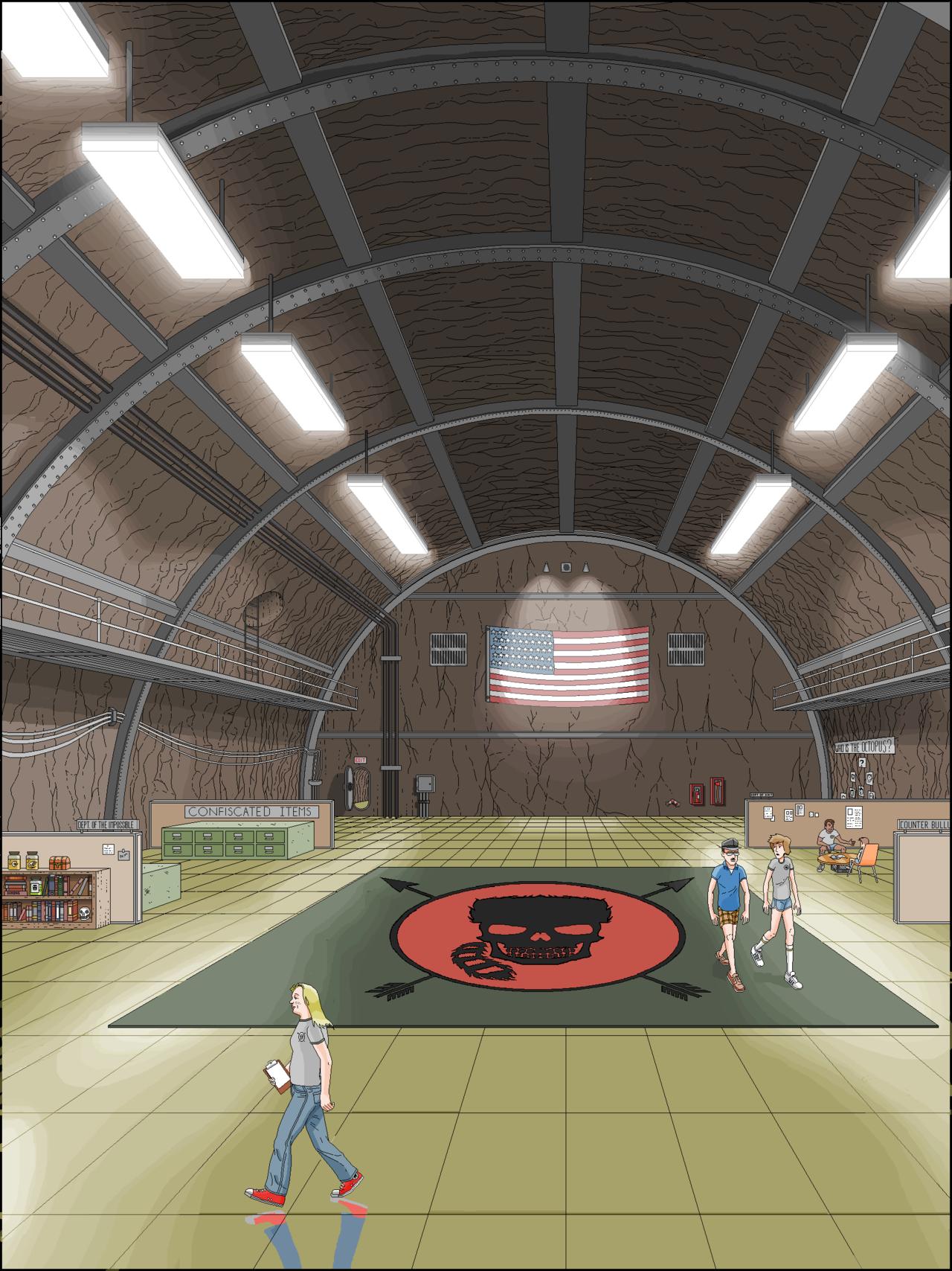 Camp RedBlood Black Ops