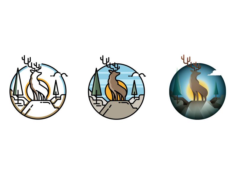 deer-icon-by-ilker-ture