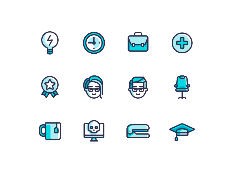 office-icons-by-yegor-shustov