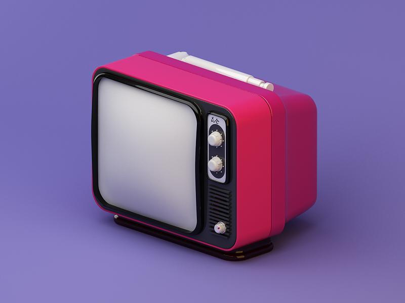 old-tv-by-annmeiyu