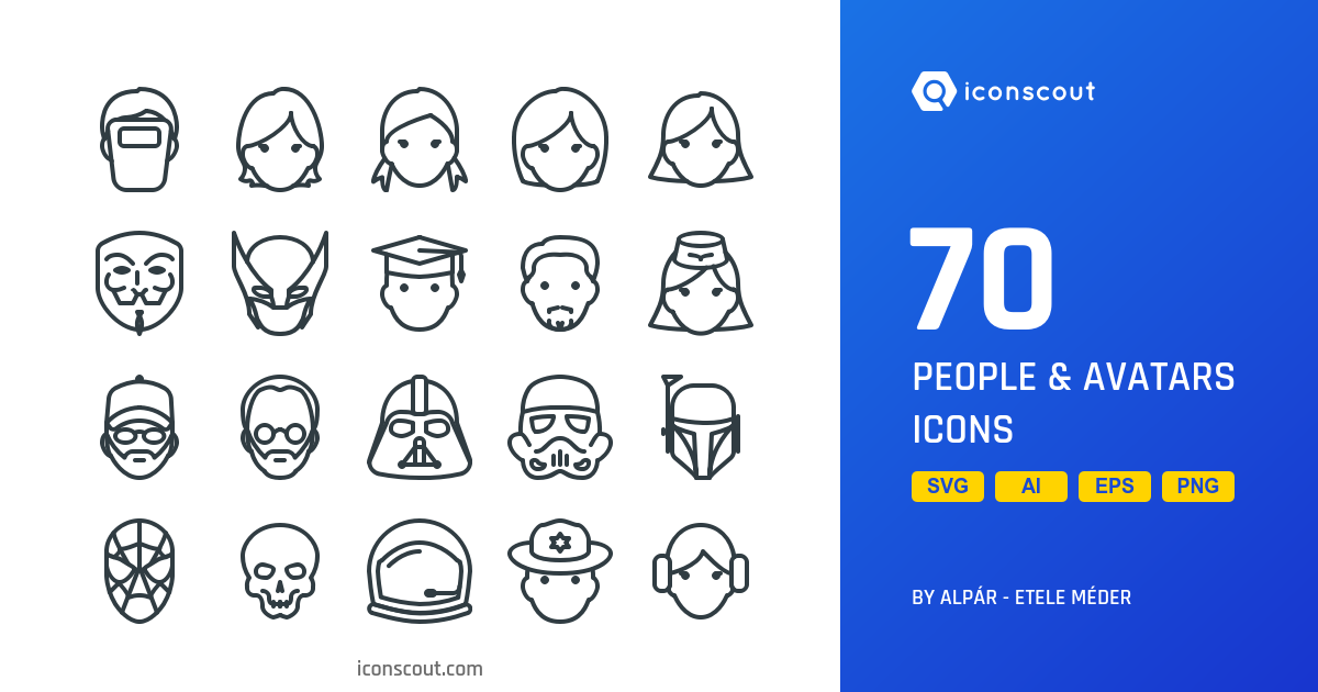 People & Avatars icons by Those Icons