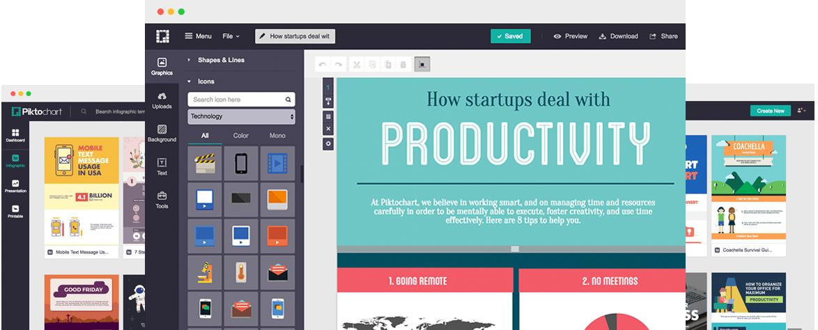 Piktochart - Create Easy Infographics, Reports, Presentations