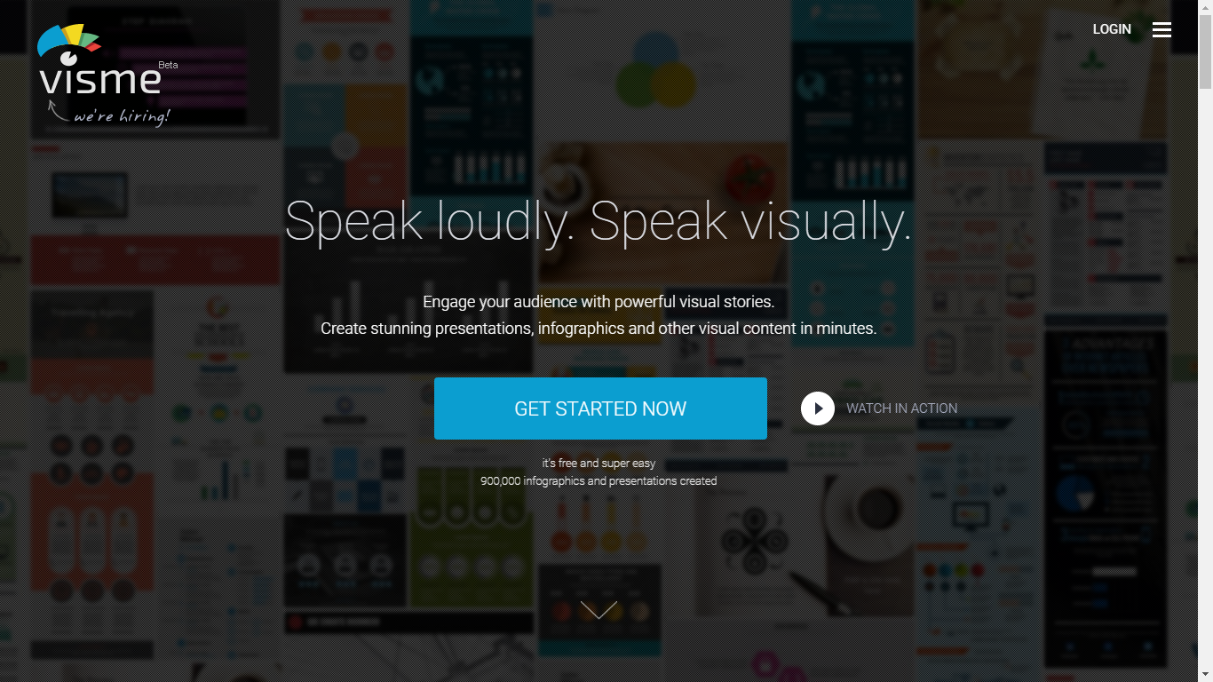 Visme.co - Engage your audience with powerful visual stories.