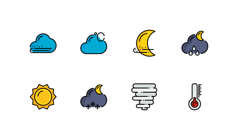 Weather icons by Unlimit Icon