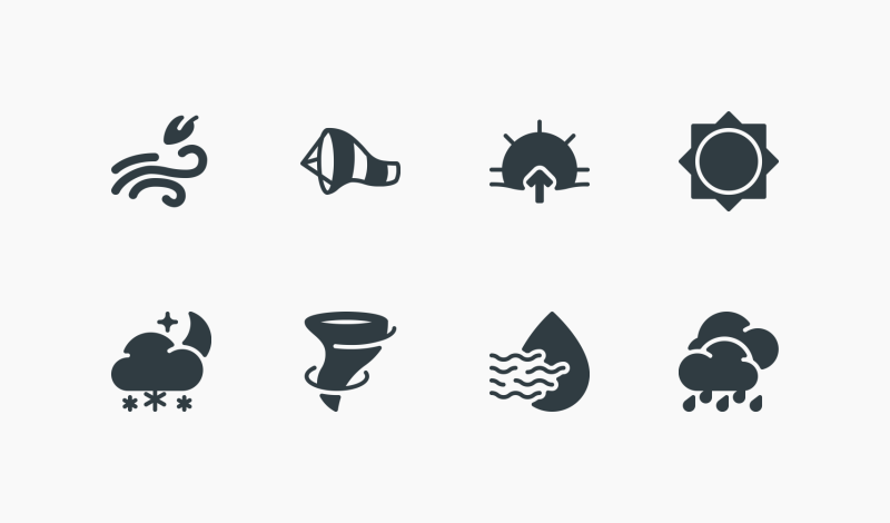 Weather icons by Those Icons