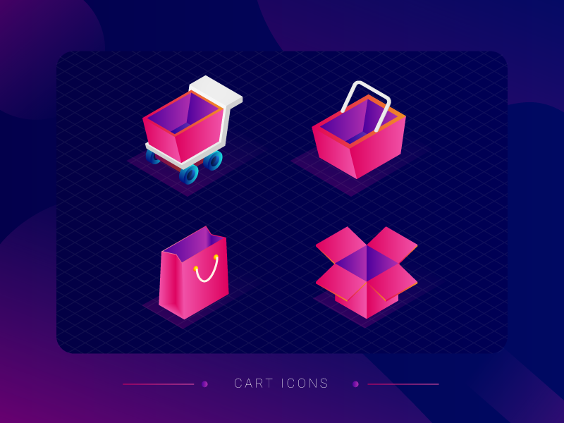 cart-icons-by-sumender-kundu