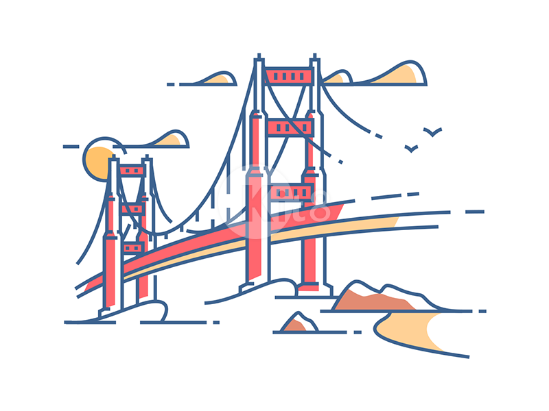 golden-gate-bridge-illustration-by-kit8