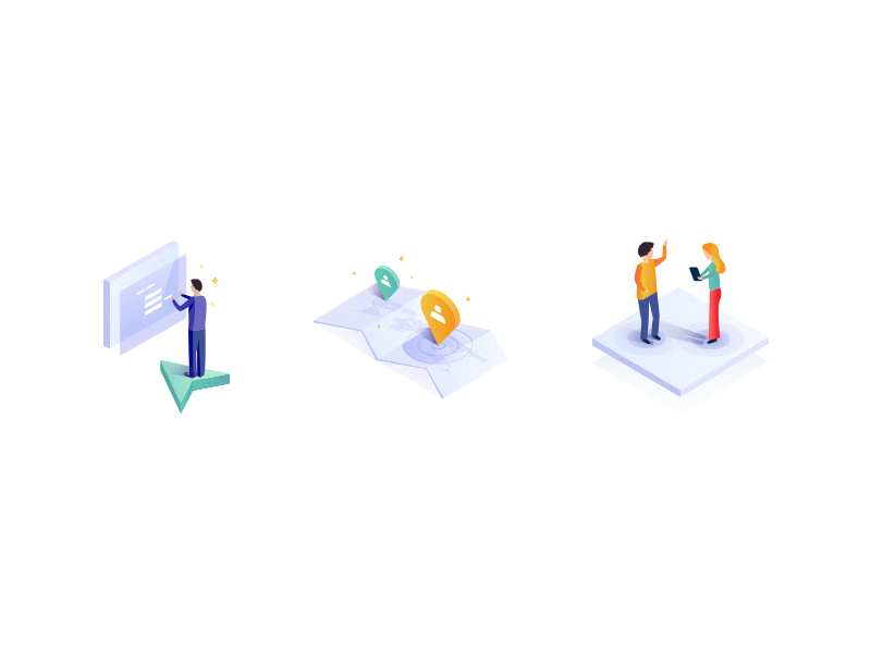 isometric-icons-by-lea-poisson