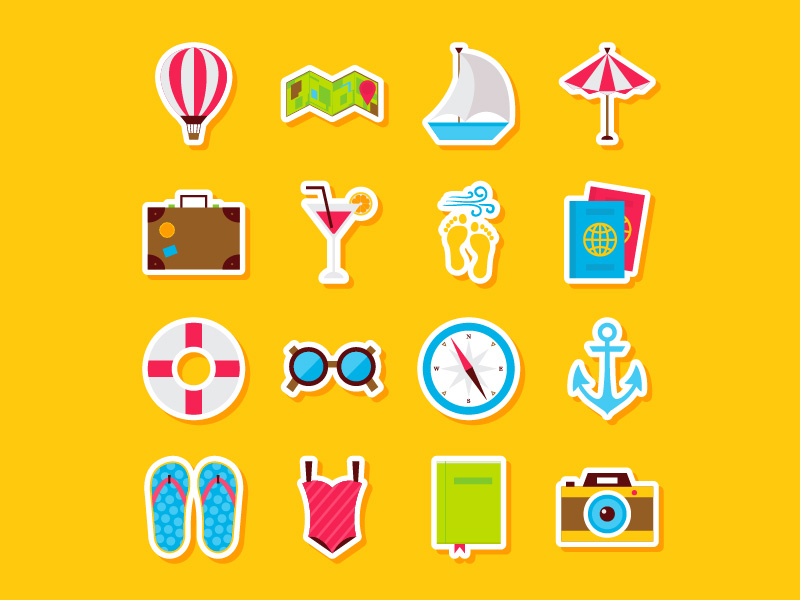 summer-travel-stickers-by-anna-sereda
