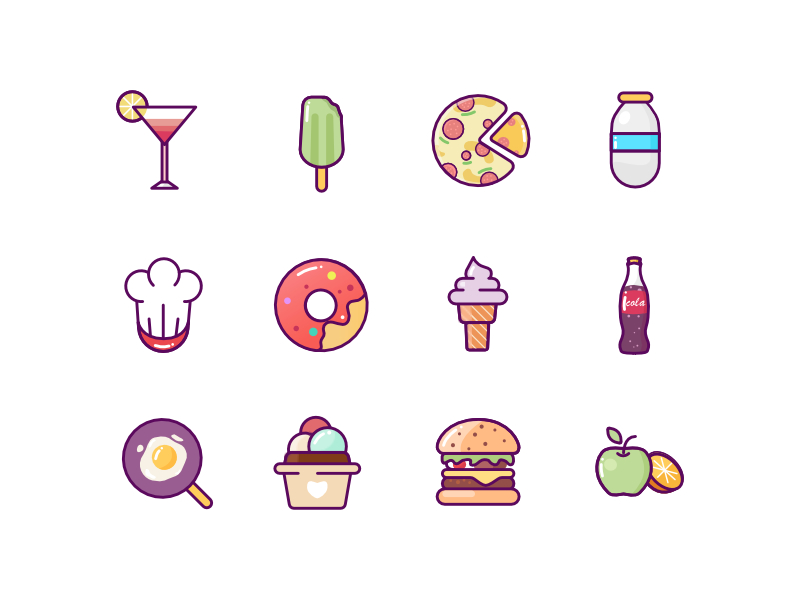food-icons-by-zack_wd