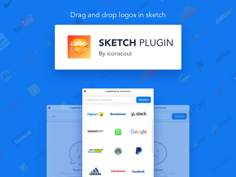 LogoDrop by Iconscout