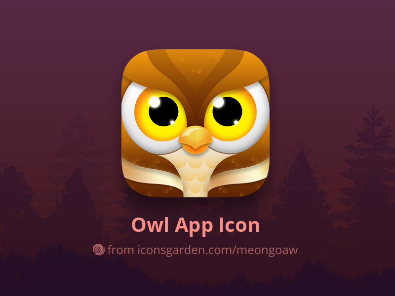 owl-app-icon-by-iconsgarden