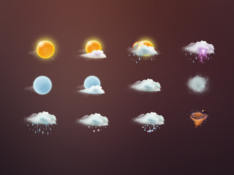 weather-icons-by-graceliu