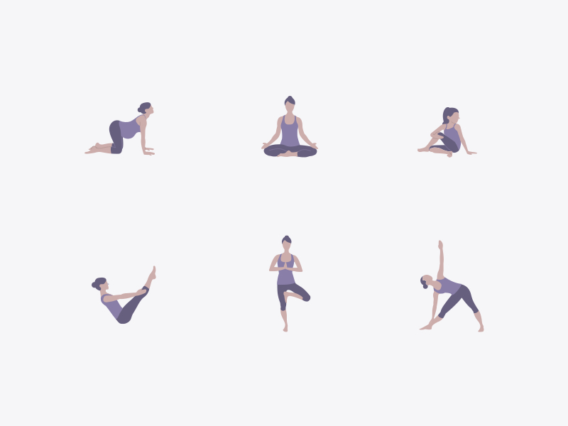 yoga-icons-by-dina-sabat