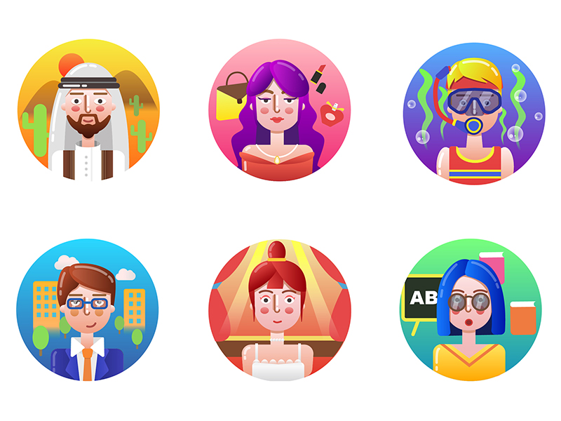 Character icons by CintyChan