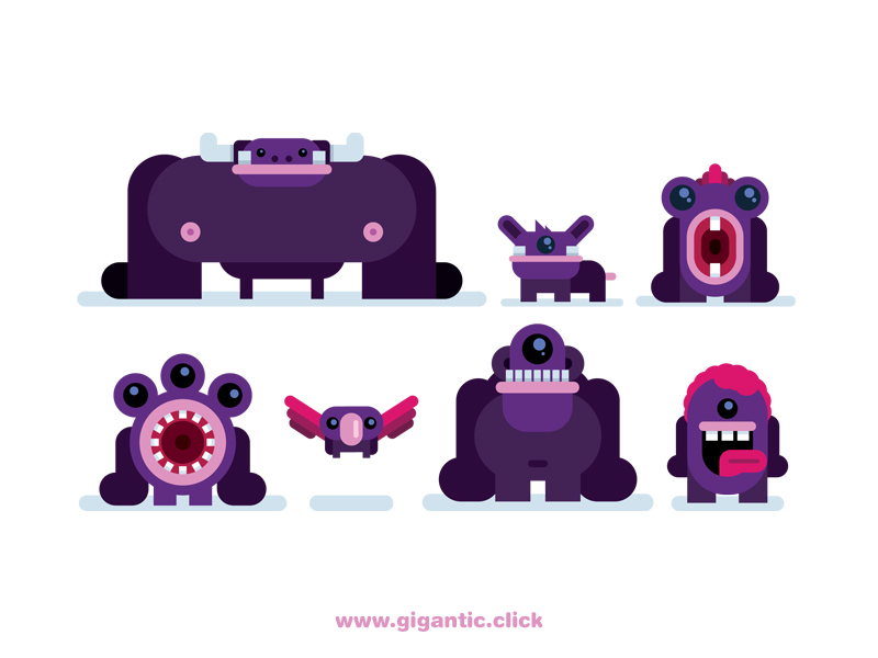 cute-monsters-by-gigantic