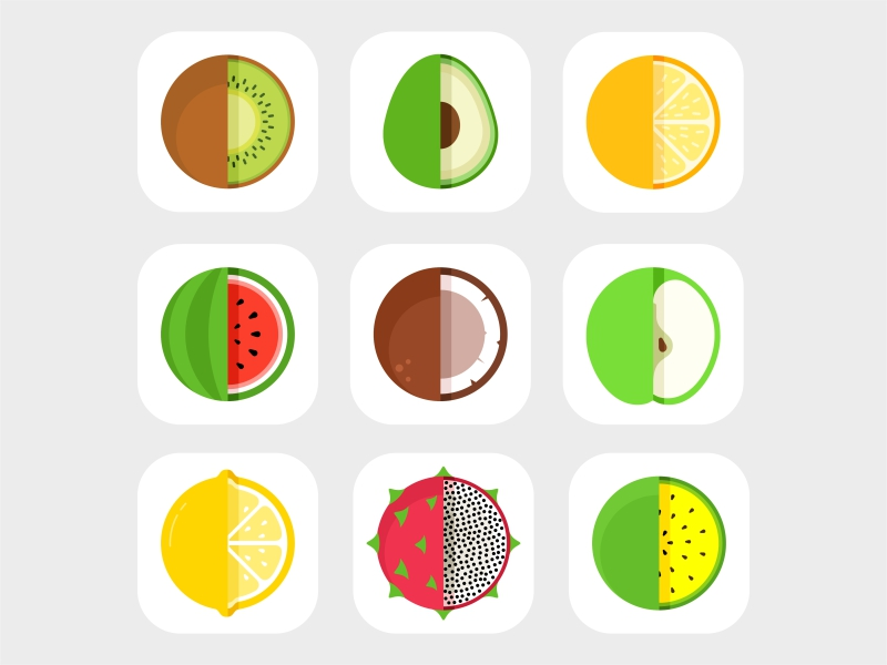 fruits-icons-by-aleksandar-savic