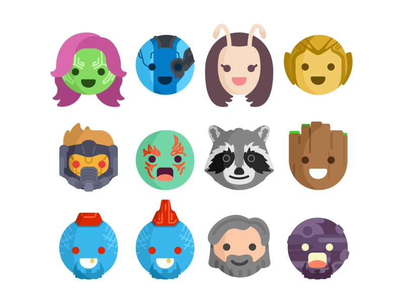 guardians-of-galaxy-emoji-by-aleksandar-savic