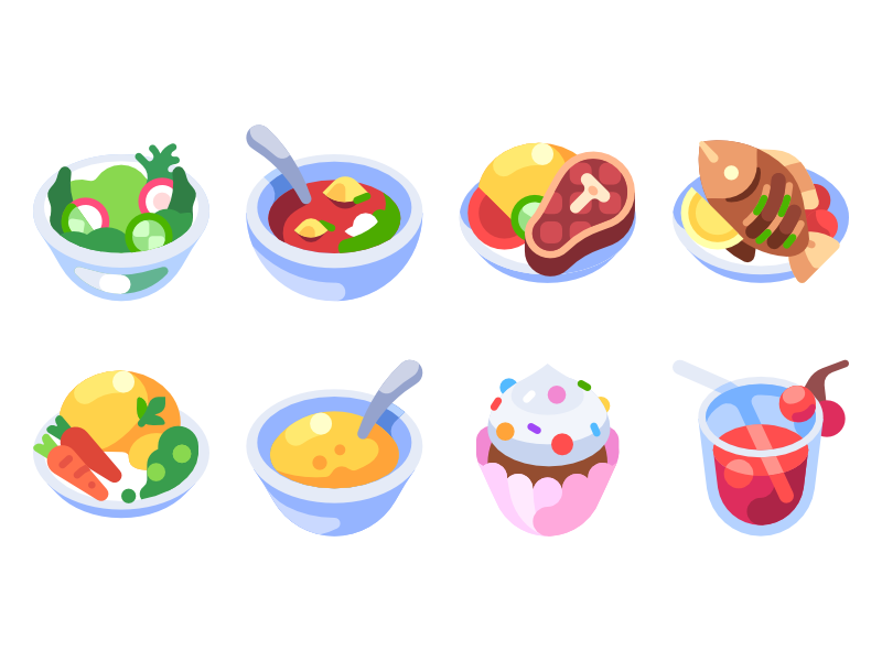 recipes-icons-by-victor-salomakhin