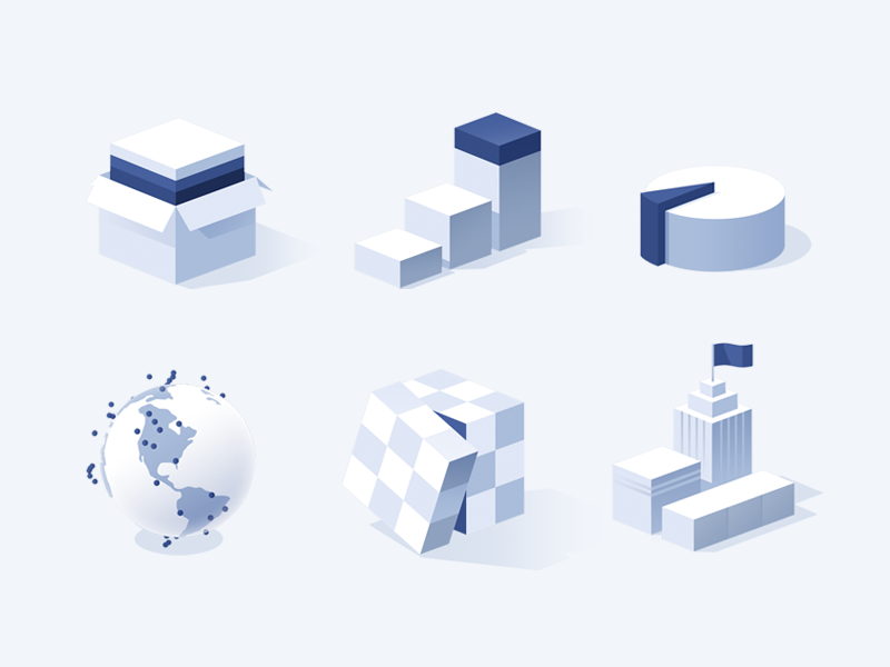isometric-icons-by-julien-renvoye