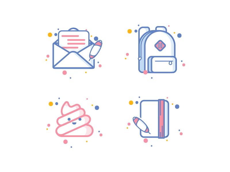 school-icons-by-broto-seno