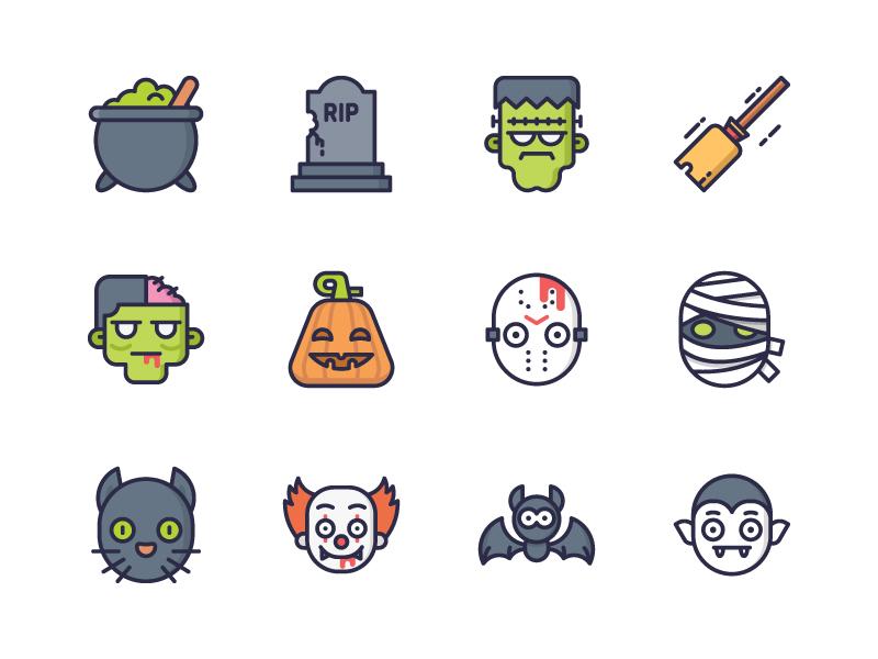 halloween-icons-by-hanggoro-candra-qozali