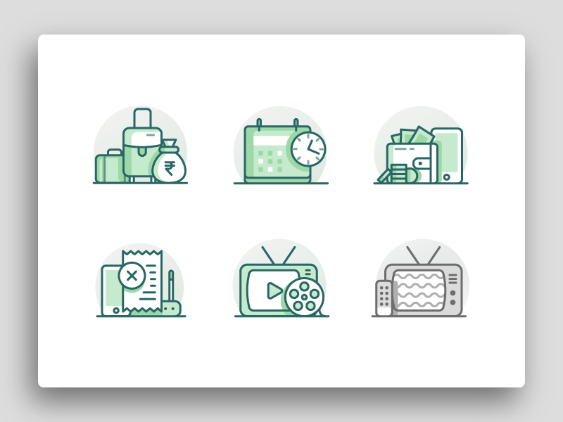 hotel-illustrations-icons-by-bonie-p-varghese