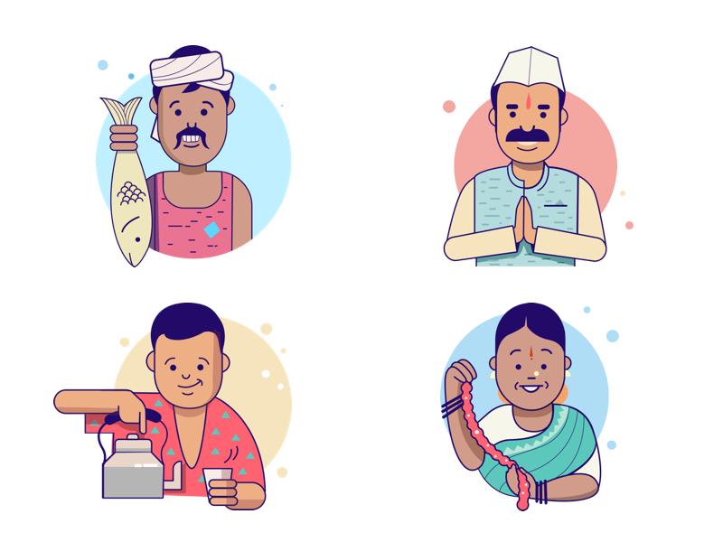 indian-characters-by-ranganath-krishnamani