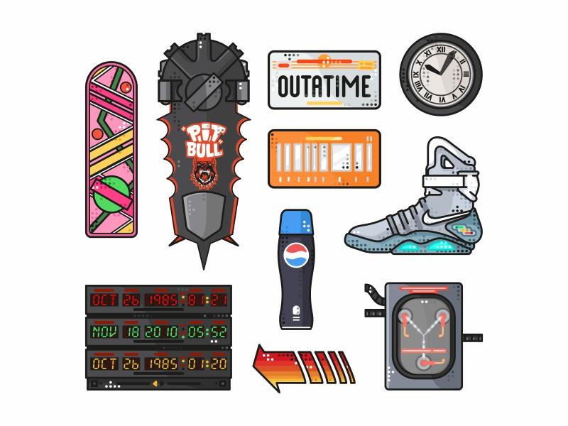 Back To The Future Stuff icons by Aleksandar Savic