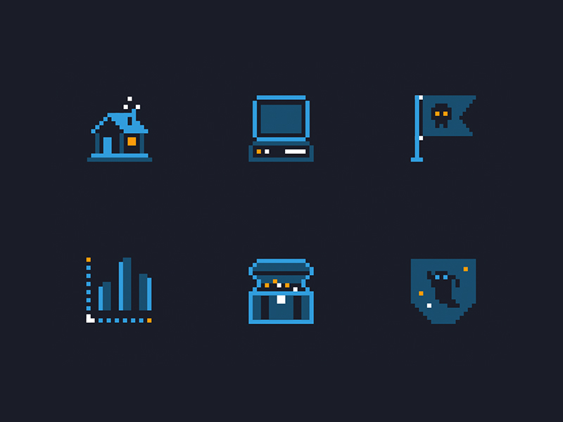 Hacktober Icons by Evan Travelstead