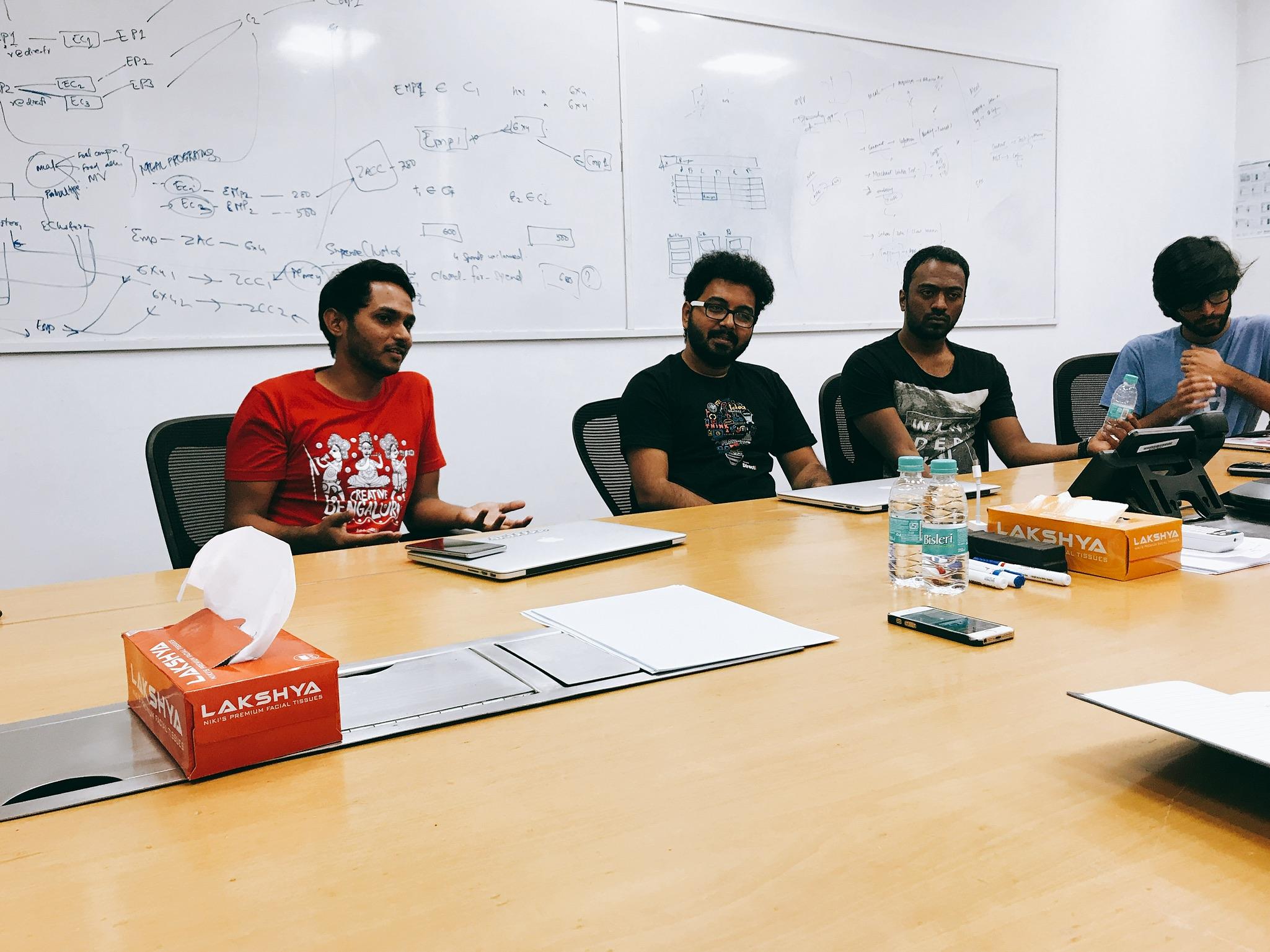 Saptarshi explaining Evolution in Payment