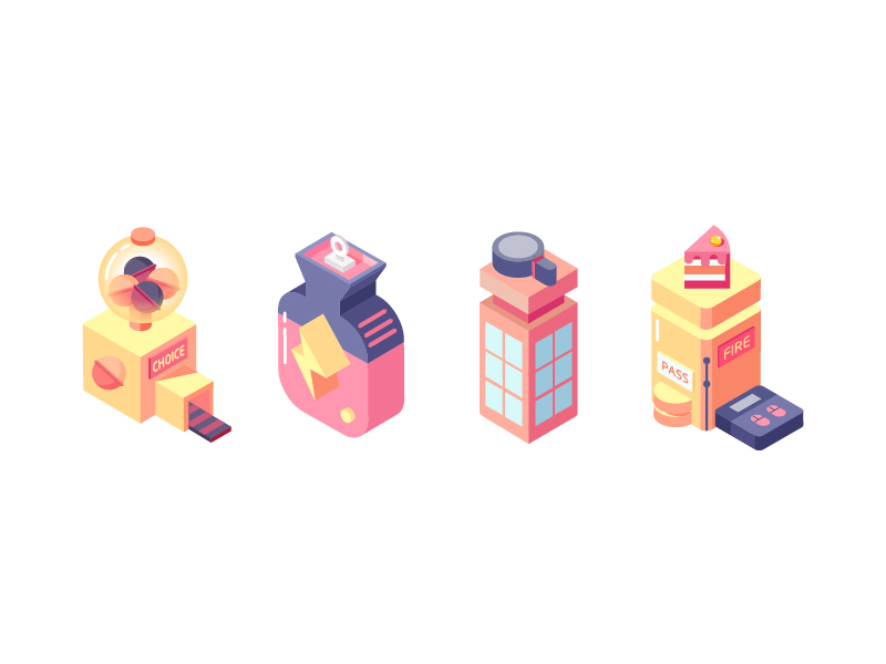 isometric-icons-by-luna_xie