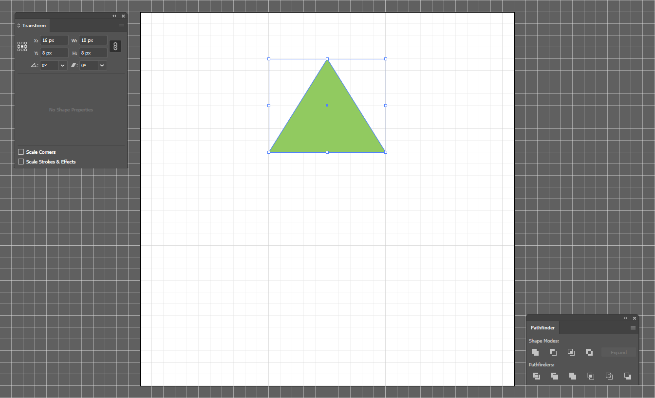 Create Triangle 1