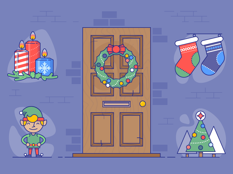 christmas-icons-by-laura-reen
