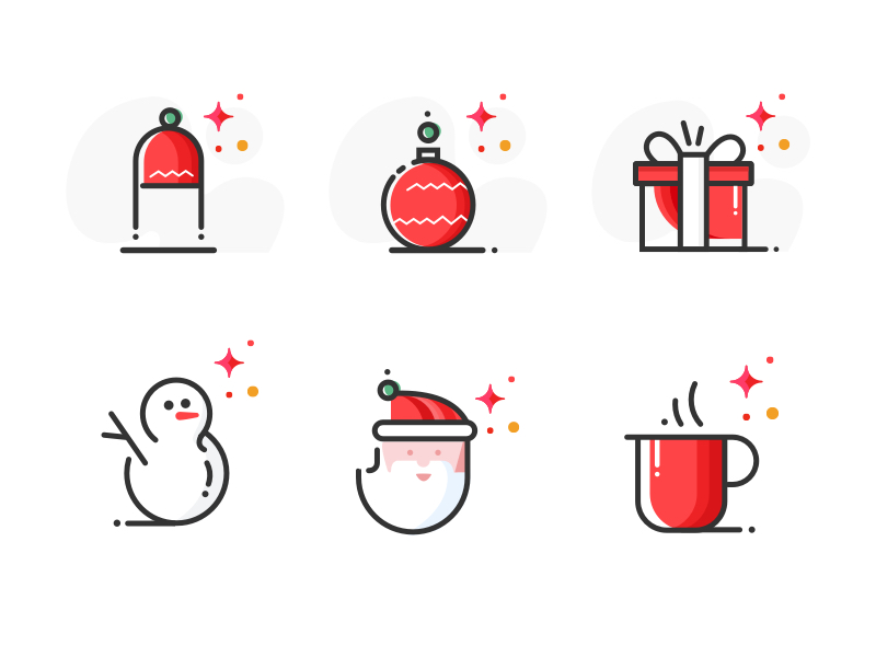 christmas-icons-by-syedhaqil