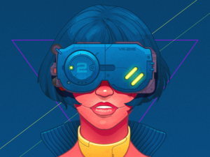 cyberpunk-girl-infographic-element-by-csaba-gyulai